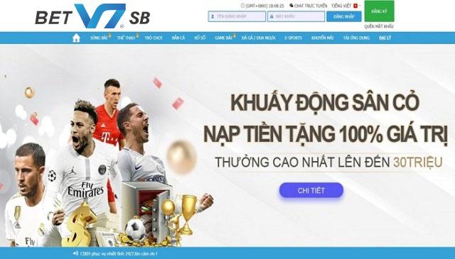 V7SB - Nhà cái cá cược uy tín hàng đầu Châu Á