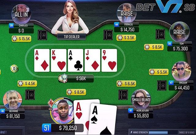 Nhận biết đâu là bài Poker tốt