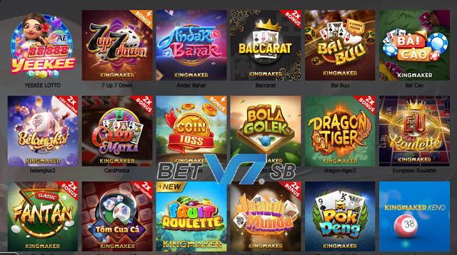 Tổng hợp các game bài hấp dẫn tại nhà cái V7SB