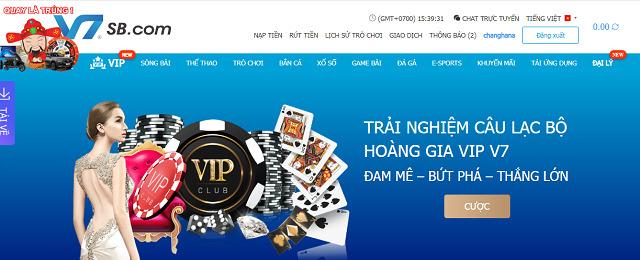 """VIP V7SB - Nơi dành cho những tay chơi đẳng cấp và """"giàu sang"""""""