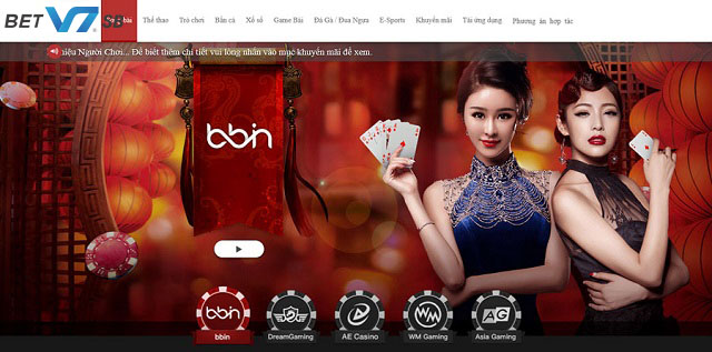 Sòng bài Live Casino hấp dẫn
